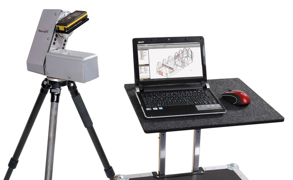 Flexijet measurment unit case laptop
